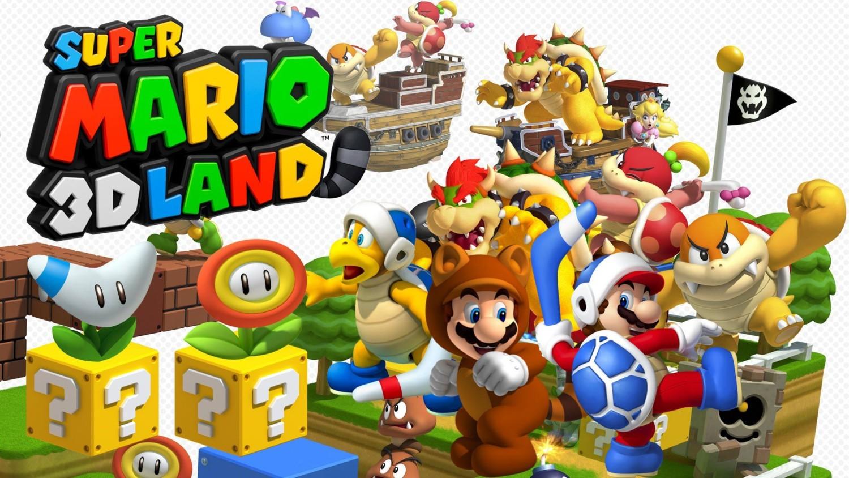 3D Land-Super-Mario
