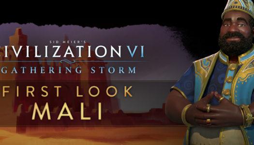 Mansa Musa liderará Mali en Civilization VI: Gathering Storm