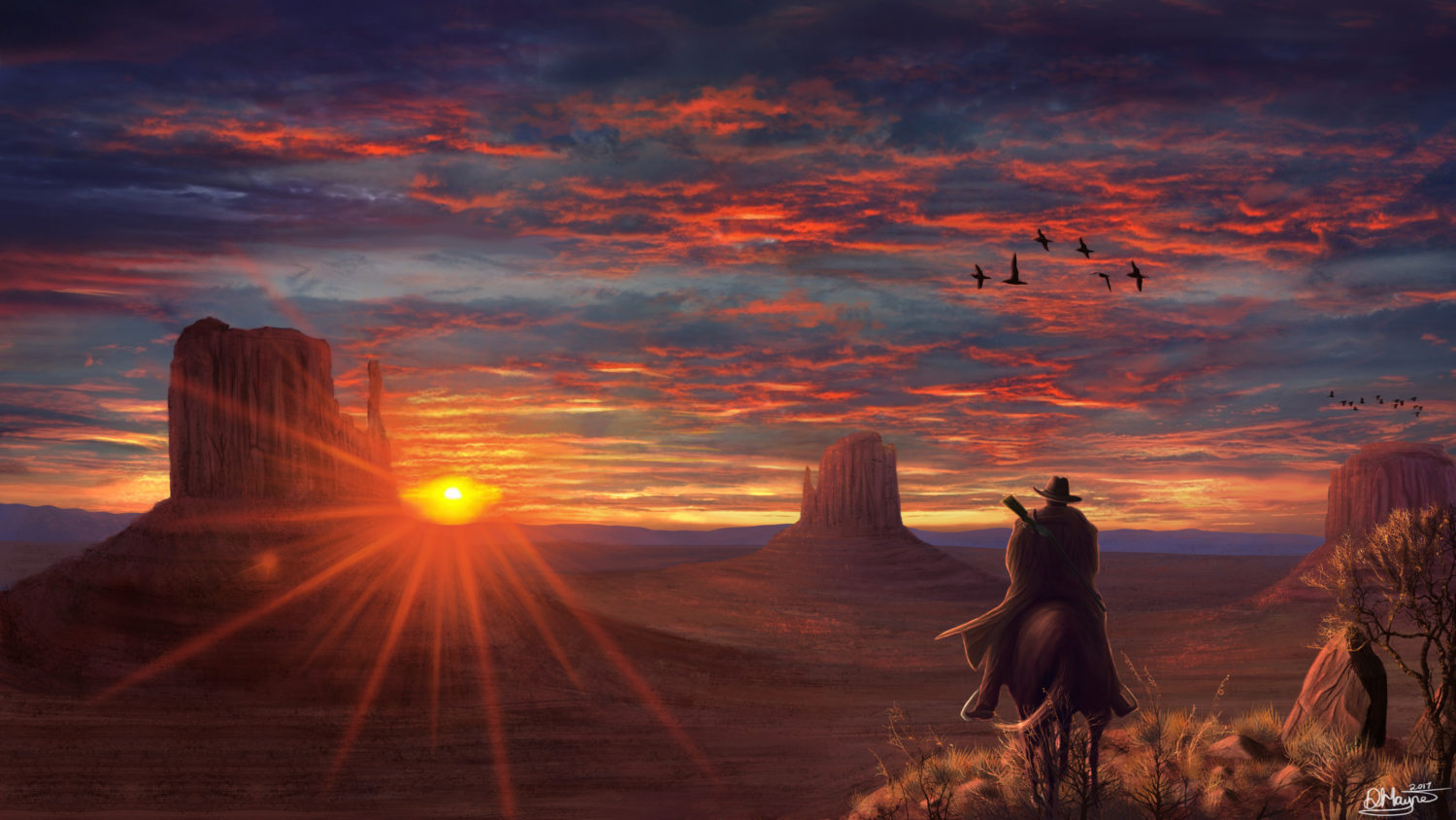 Red Dead Redemption 2 fan art