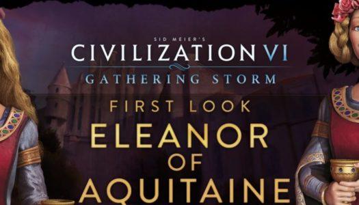 Leonor liderará Inglaterra y Francia en Civilization VI: Gathering Storm