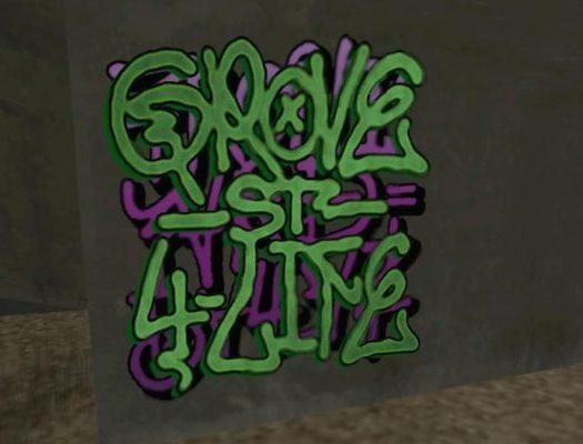 GTA San Andreas Graffitis