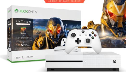 Microsoft anuncia un pack de Anthem con Xbox One S