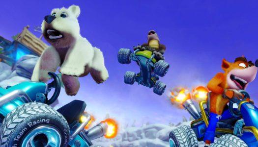 Crash Team Racing Nitro-Fueled se deja ver en nuevos gameplays