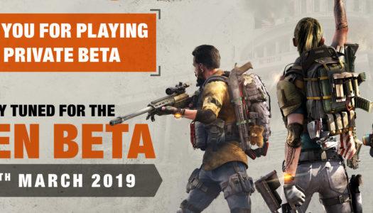 Ubisoft confirma y concreta la beta abierta de The Division 2