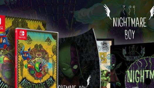 La edición especial de Nightmare Boy para Switch, ya a la venta