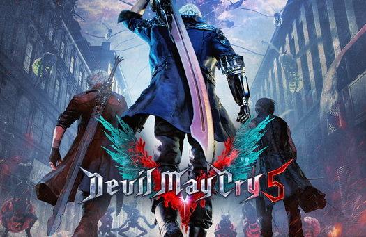 Devil May Cry 5-Dante