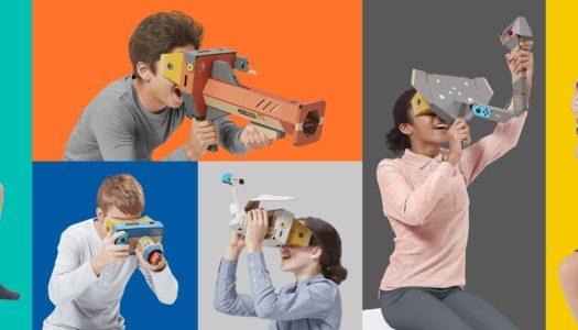 Nintendo da el salto a la realidad virtual mediante Labo