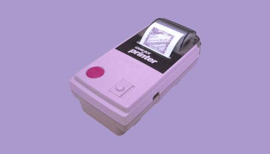 Game Boy Printer: qué, cuándo y porqué