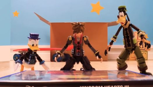 Descubrimos el mundo de Toy Story de Kingdom Hearts III en stop-motion