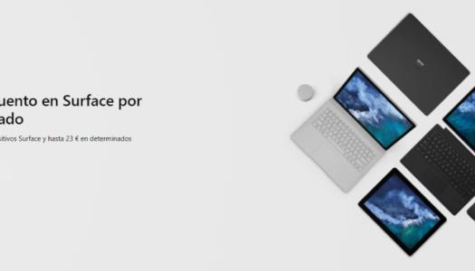 Microsoft Store ofrece descuentos en los dispositivos Surface