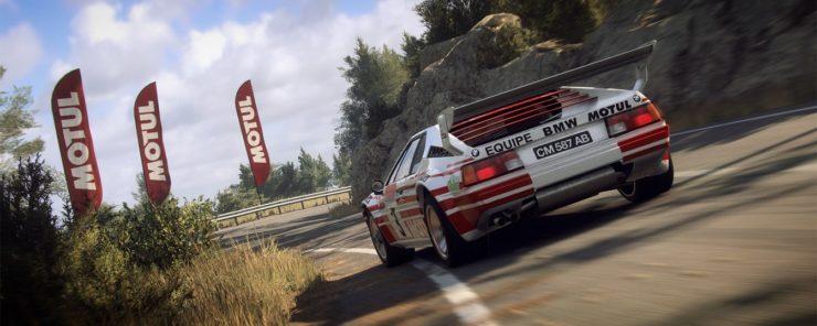 Resultado de imagen de BMW M1 Procar Rally dirt