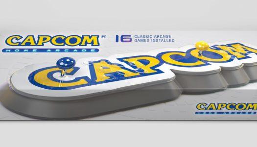 Capcom anuncia su recreativa de sobremesa Capcom Home Arcade