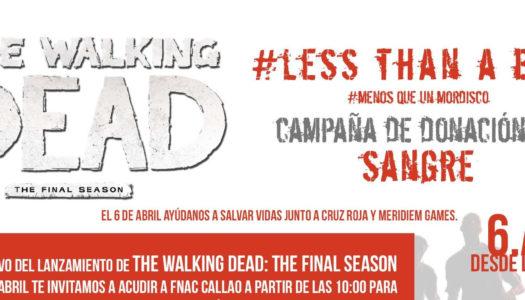 """The Walking Dead promueve la campaña """"Less than a bite"""""""