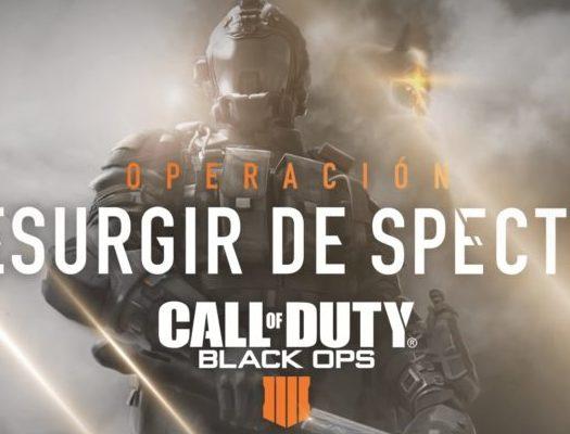Call of Duty Black Ops IIII Operación Resurgir de Spectre