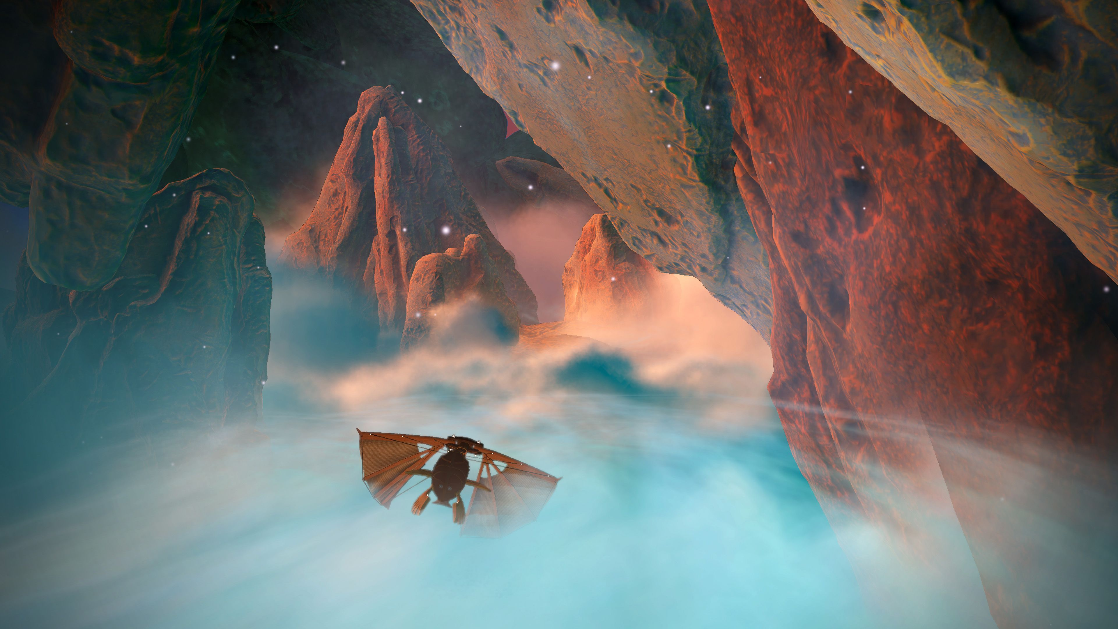 Navegando en Heaven's Vault
