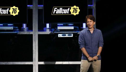 Todd Howard sorprende con sus declaraciones sobre Fallout 76