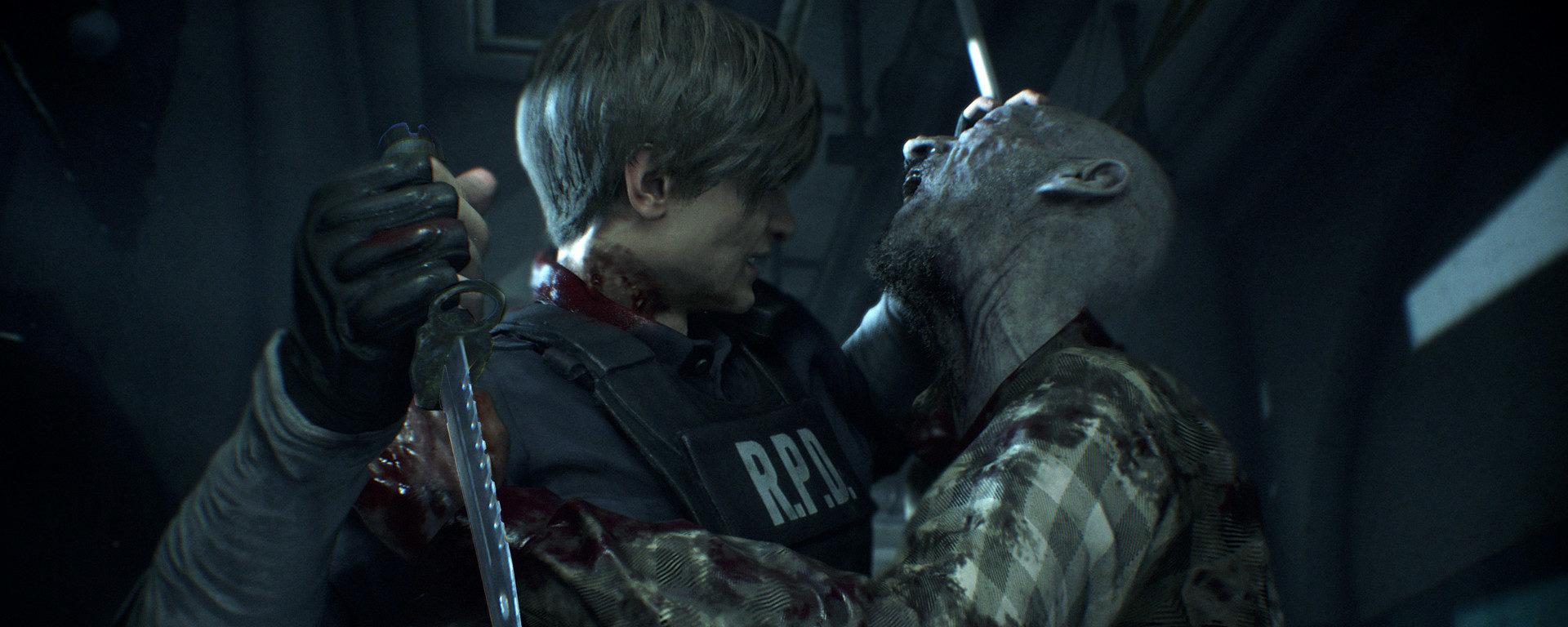 Combate Resident Evil 2