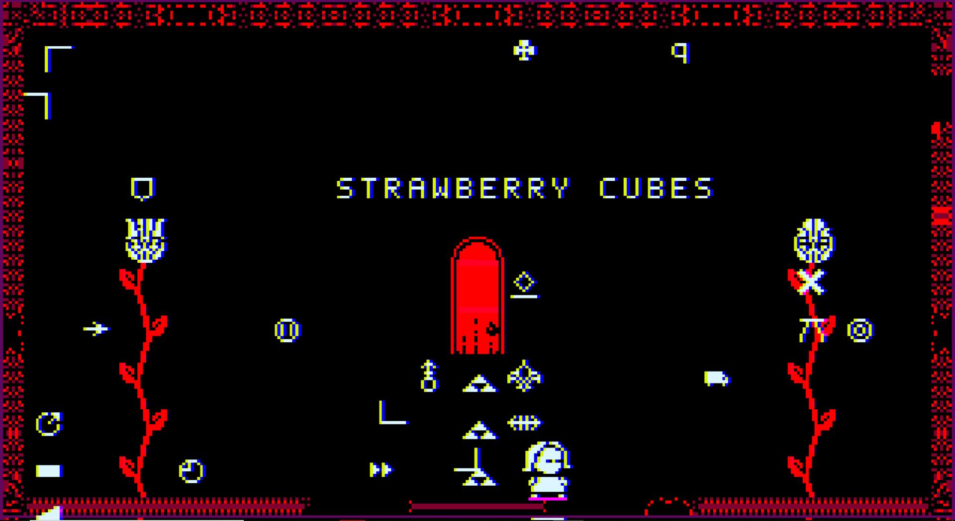 Strawberry cubes Loren Schmidt