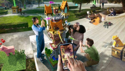 Minecraft Earth promete ser una revolución para la realidad aumentada