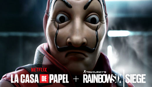 La Casa de Papel atraca Tom Clancy´s Rainbow Six Siege
