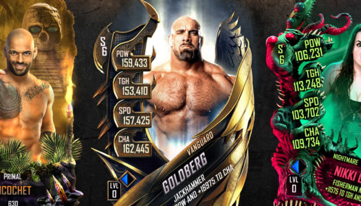La temporada 6 de WWE SuperCard ya está disponible