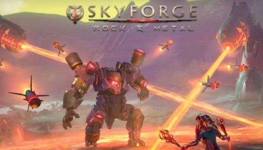 La expansión Rock & Metal ya se encuentra disponible para Skyforge