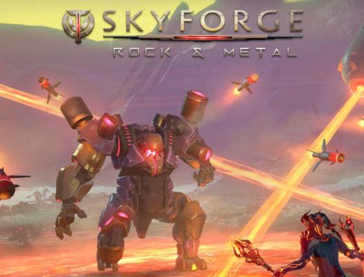 Skyforge Rock Metal
