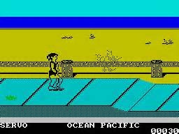 California games en ZX spectrum