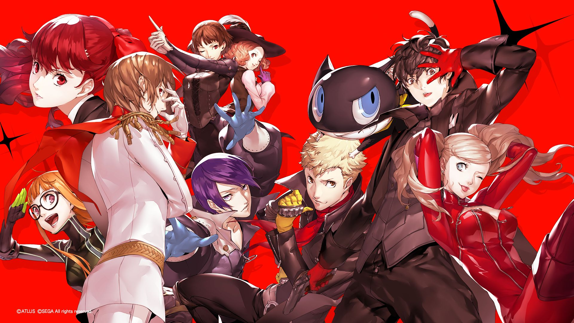 Pin by Oi Ling Wong on A-插畫001 in 2020 | Persona 5