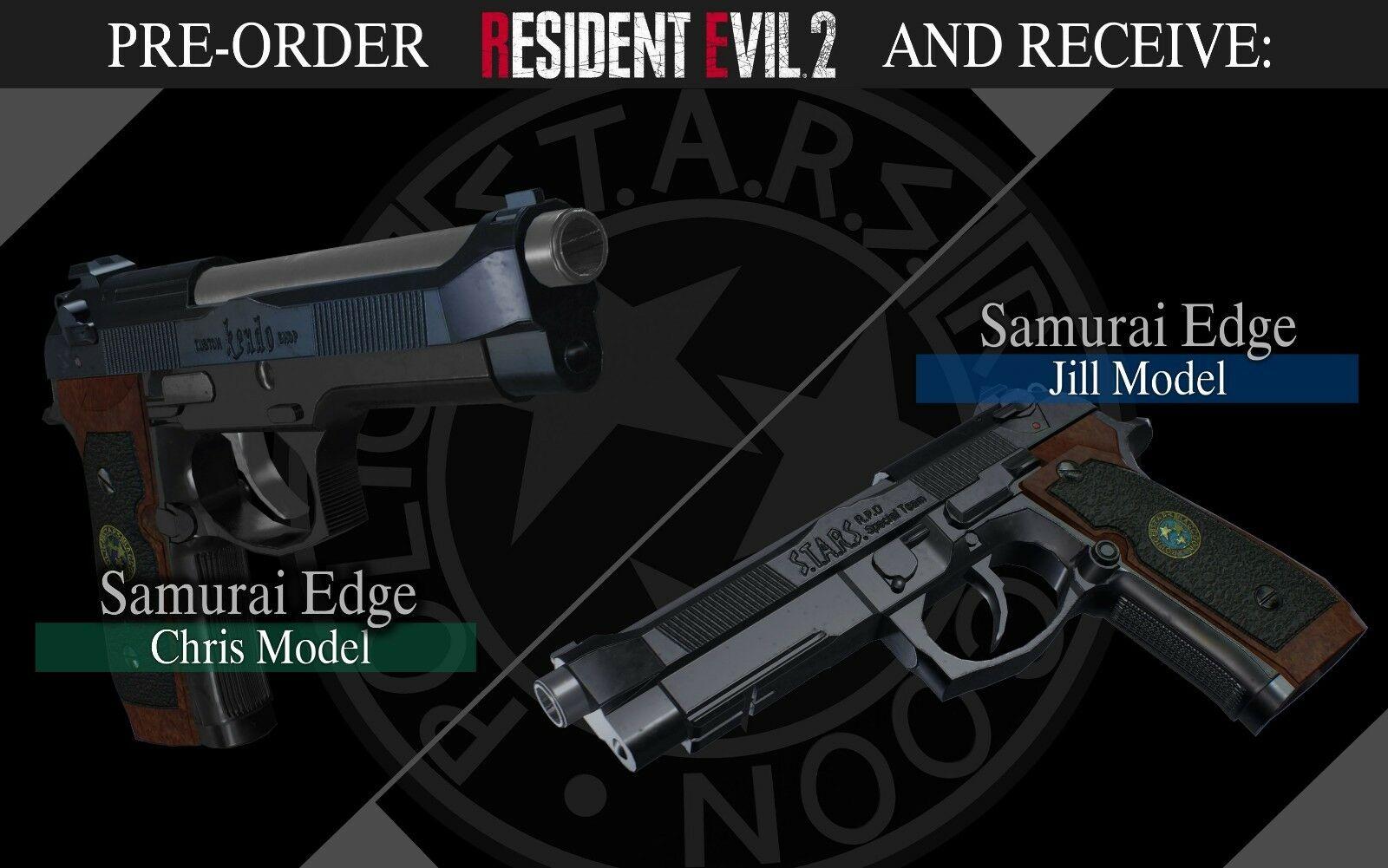 Resident Evil 2 Remake Pre order