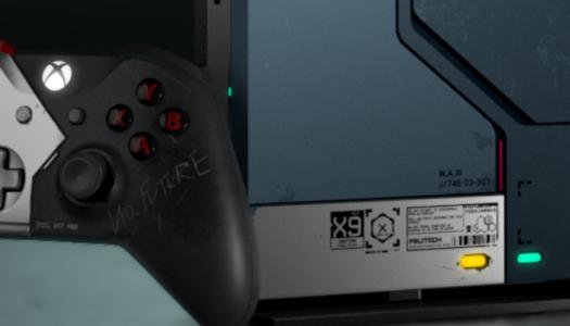 Así son la Xbox One X y su mando basados en Cyberpunk 2077