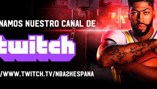 El canal de Twitch de 2K España ya está en emisión