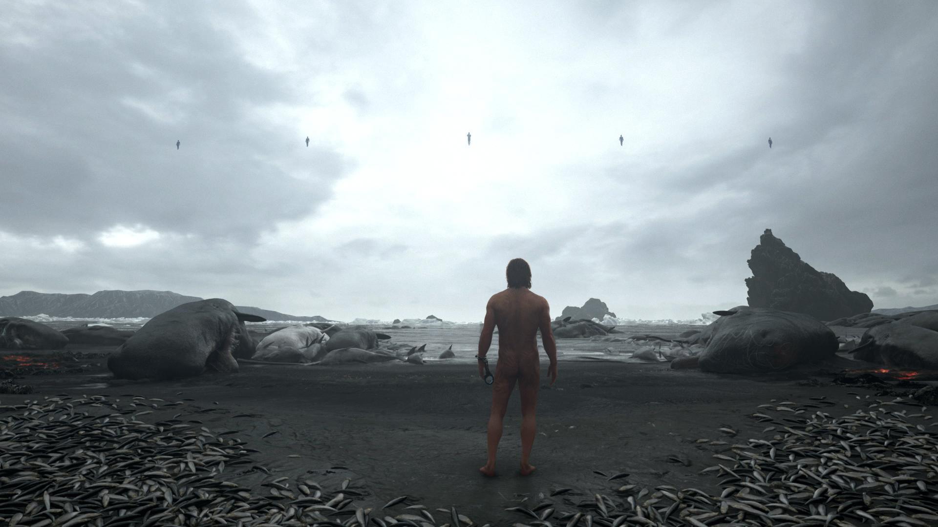 death stranding playa