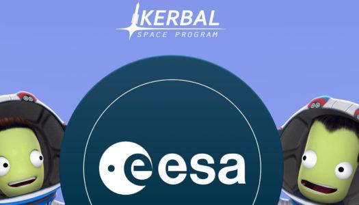 Kerbal Space Program colaborará con la Agencia Espacial Europea