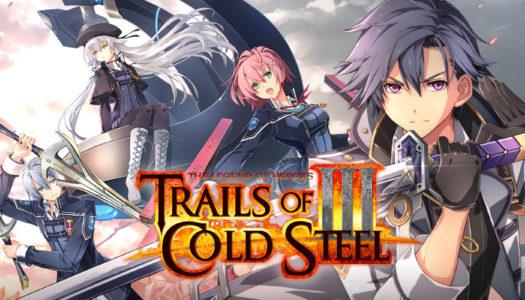 Trails of Cold Steel III ya a la venta para Nintendo Switch