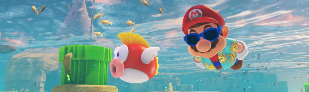 Super Mario Odyssey movimiento tributo