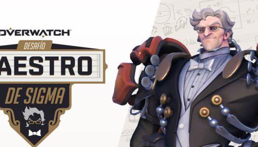 El desafío Maestro de Sigma llega a Overwatch