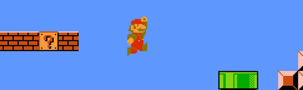 Super Mario Bros tributo saga