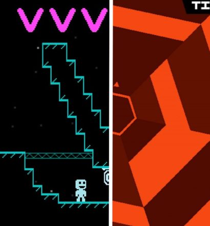 VVVVVV Super Hexagon