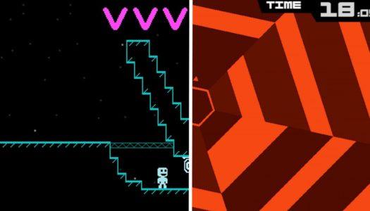 VVVVVV + Super Hexagon