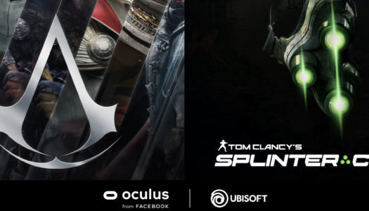 Assassin's Creed y Splinter Cell tendrán títulos exclusivos para Oculus