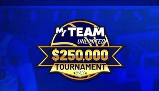 Anunciado el torneo NBA 2K21 Mi EQUIPO Ilimitado con premio de $250.000
