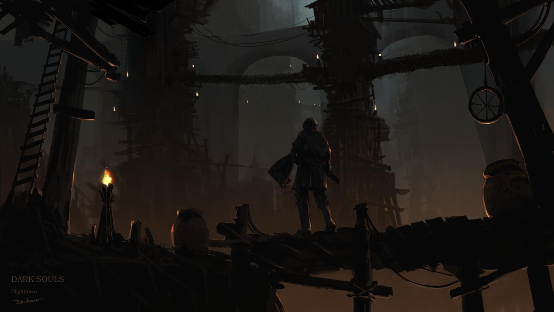 Dark Souls Blighttown Profundidades