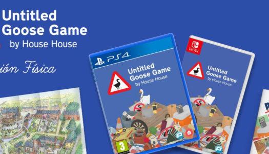 Untitled Goose Game llega a las tiendas en físico para PS4 y Switch
