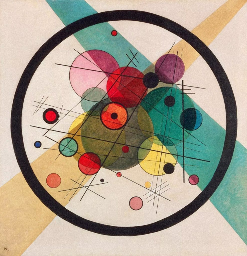 Kandinsky - Circles in a circle