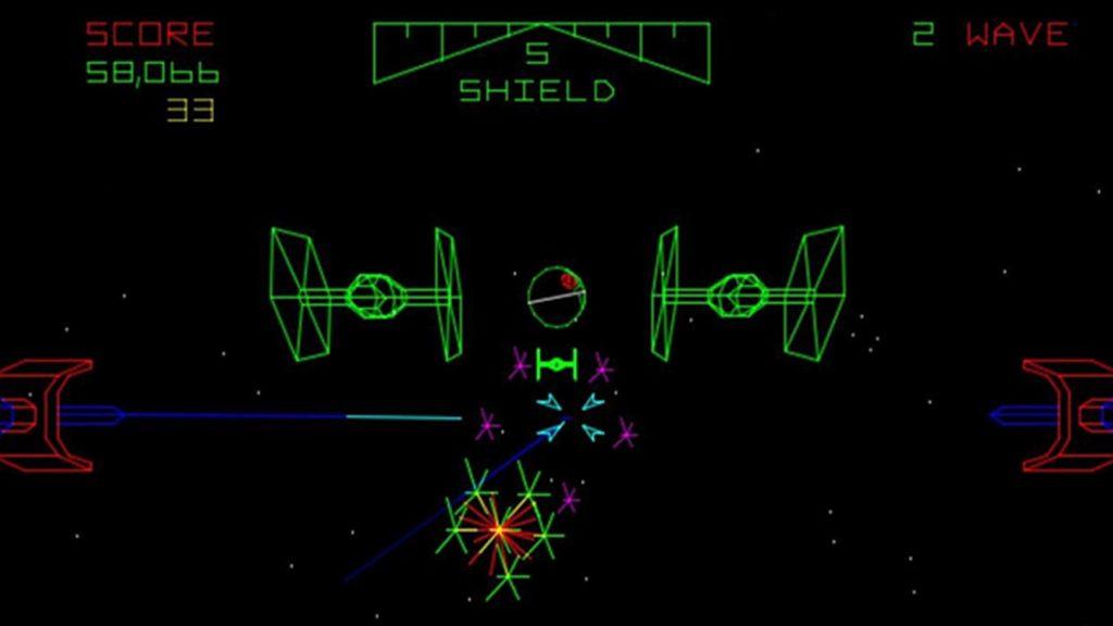 Captura Star Wars Atari 1983