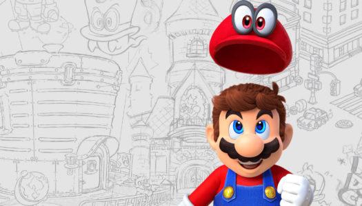 El arte de Super Mario Odyssey