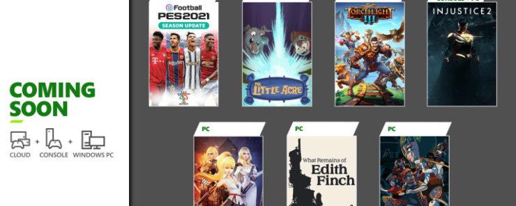 Xbox Game Pass-Enero