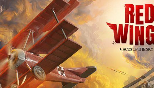 Sobrevuela cielos bélicos en Red Wings: Aces of the Sky