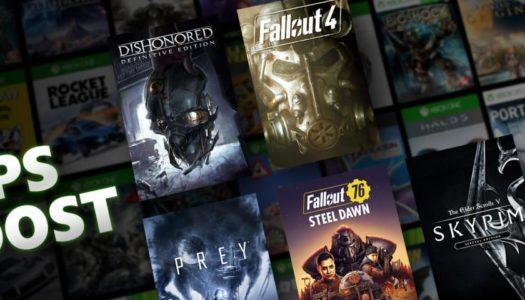 Cinco juegos de Bethesda sumarán FPS Boost en Xbox Series X|S
